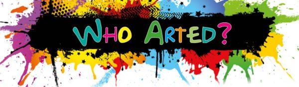 Who Arted logo
