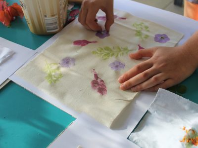 Who Arted flowers